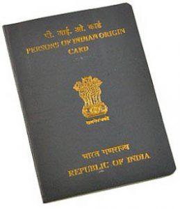 Indian PIO Card