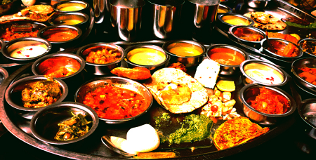 Food Served at Weddings in India